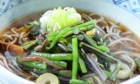 山菜そば ¥690