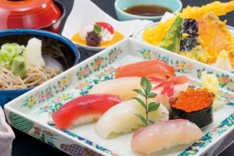 寿司蕎麦御膳2880