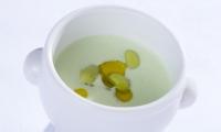 ④枝豆冷製スープ