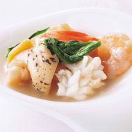 紋甲イカとツブ貝の炒め蝦醤ソース