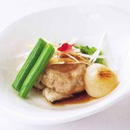 豚ヒレ肉のオーブン焼きトロトロ香味ソース