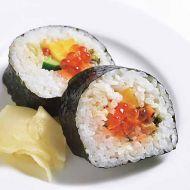 鮭とろ入り葉山葵香る海鮮巻き
